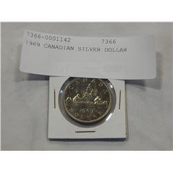 1969 CANADIAN SILVER DOLLAR