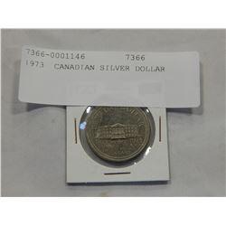 1973 CANADIAN SILVER DOLLAR