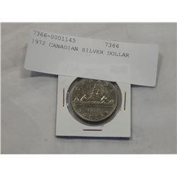 1972 CANADIAN SILVER DOLLAR