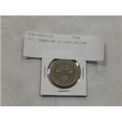 1971 CANADIAN SILVER DOLLAR