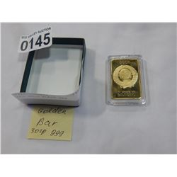 CCP GOLD PLATE BAR