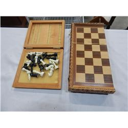 2 VINTAGE CHESS SETS