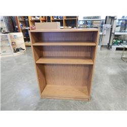 OAK 4FT BOOKSHELF