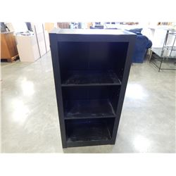 4FT BLACK BOOKSHELF