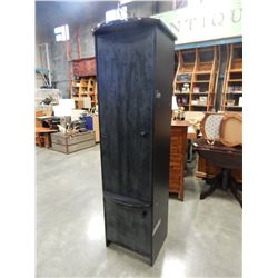 BLACK 6-1/2 FOOT CUPBOARD