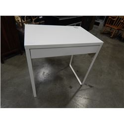 WHITE IKEA 1 DRAWER DESK