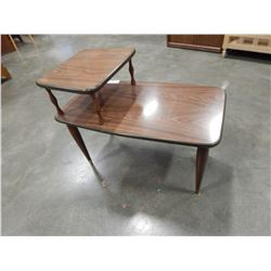 MCM 2 TIER SIDE TABLE