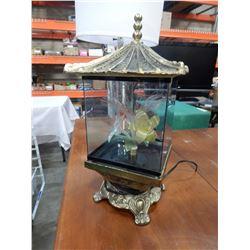 VINTAGE FIBER OPTIC FLOWER LAMP WORKING
