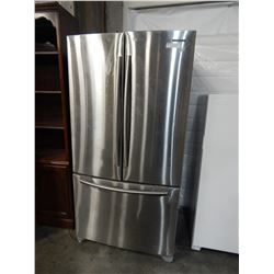 SAMSUNG STAINLESS STEEL FRIDGE WITH BOTTOM FREEZER TESTED AND WORKING GUARANTEED