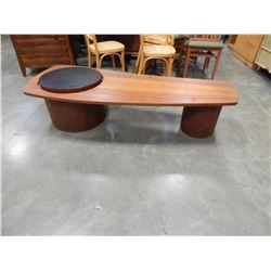 CHERRY ART DECO COFFEE TABLE