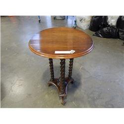 BARLEY TWIST VINTAGE SIDE TABLE
