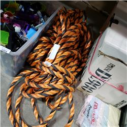 2 BUNDLES OF SHIP ROPE