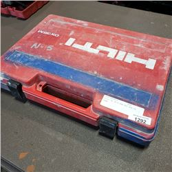 HILTI DX 36 M RAM SET GUN IN CASE