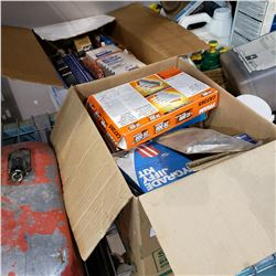 2 BOXES OF CAR PARTS IN ORIGINAL PACKAGES