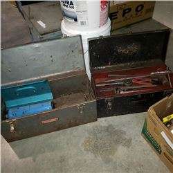 2 TOOLBOXES WITH CONTENTS