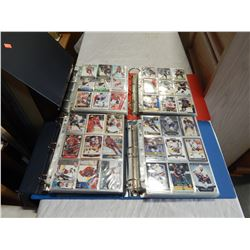 4 BINDERS OF HOCKEY CARDS
