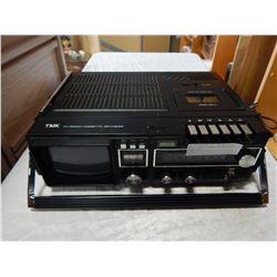 TMK TV-RADIO-CASSETTE RECORDER 1980S ERA