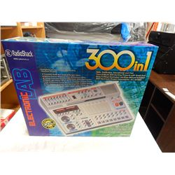 RADIO SHACK 300 IN 1 ELECTRONIC LAB AS NEW IN BOX