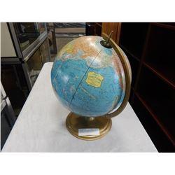 VINTAGE CRAMS SCOPEOSPHERE 12 INCH WORLD GLOBE