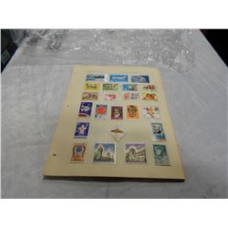 LOT OF WORLD STAMPS