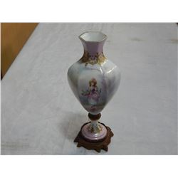 SEVERIN STYLE HAND PAINTED VASE