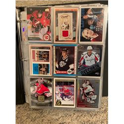 BINDER OF APPROX 400 STAR HOCKEY CARDS INCLUDES ROOKIES AND NUMBERED LIMITED EDITION CARDS