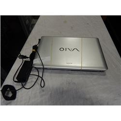 SONY LAPTOP COMPUTER WITH CHARGER, NO OPERATING SYSTEM