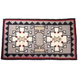 Navajo Klagetoh Wool Trading Post Rug c. 1920