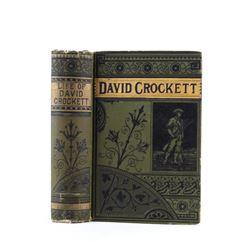 1869 Life of David Crockett by John E Porter & Os.