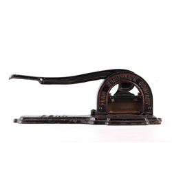 1886 Penn Hardware Company Tobacco Cutter