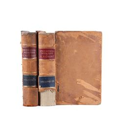 Personal Memoirs of U.S. Grant Leather 1st Edition