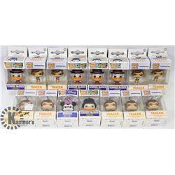 BOX OF ASSORTED POCKET POPS