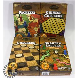 LOT OF FOUR CLASSIC GAMES - CHINESE CHECKERS,