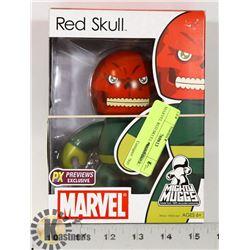 MARVEL RED SKULL MIGHTY MUGGS DOLL.