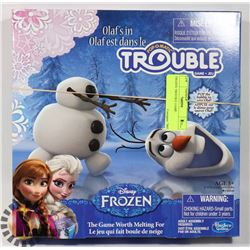 FROZEN TROUBLE GAME.