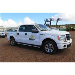 2014 Ford F150 STX Quad Cab Pickup Truck, 36,015 Miles, Lic. 856TVF (Runs & Drives - See Video)