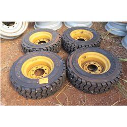 Qty 4 Life Master EBT Ruff Dawg 10-16.5 Tires