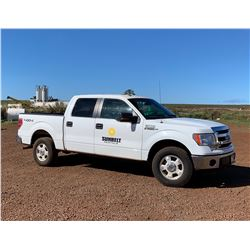 2013 Ford 150 4x4 Quad Cab Pick Up Truck 39,181 Miles Lic 712TVB