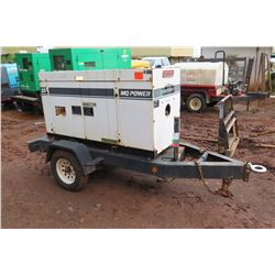 Multiquip Power 25 Diesel Generator, 20KW, 10,278 Hours