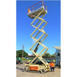 JLG 3246ES Electronic Scissor Lift, 32-Ft Working Ht, 370 Hrs (Runs, Lifts - See Video)