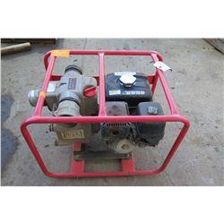 Multiquip 3-Inch Gas Trash Pump (Starts & Runs)