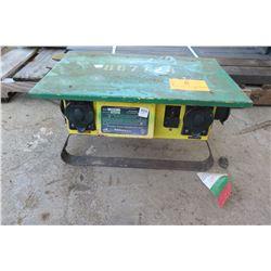 Portable Power Distribution 6506-G Spider Box