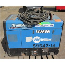 Miller Trailblazer 325 DC Welder Generator (Starts & Runs - See Video)