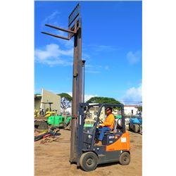 Doosan G20SC-5 Propane Forklift (Runs & Operates - See Video)