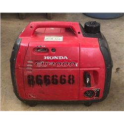 Honda EU 2000i Generator (Starts & Runs - See Video)