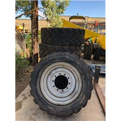 Qty 5 Used Tires and Rims