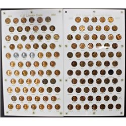 FOUR SETS OF LINCOLN CENTS IN CAPITAL PLASTIC: