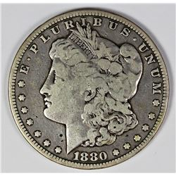 1880-CC REV. '78 MORGAN SILVER DOLLAR