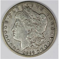 1893-O MORGAN SILVER DOLLAR