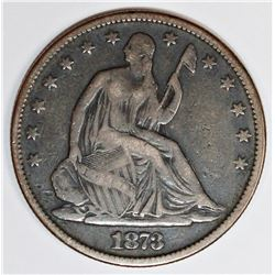 1873 CLOSED 3 HALF DOLLAR
